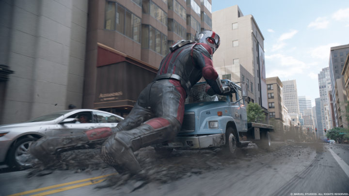 Ant Man and The WaspVFX Breakdown By DNEG