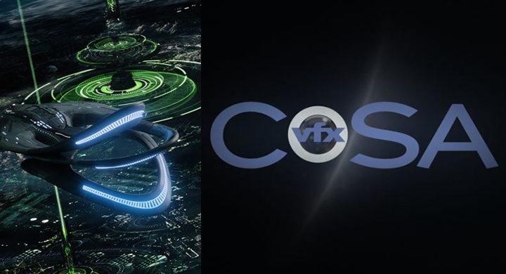 CoSA VFX Space Ship Reel